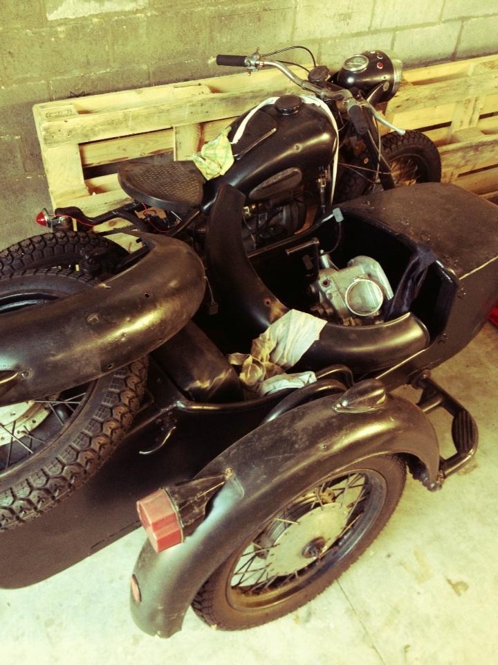 Мотоцикл Дриса