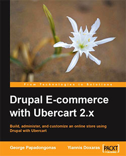 Обложка книги Drupal E-commerce with Ubercart 2