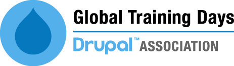 Drupal Global Training Days logo